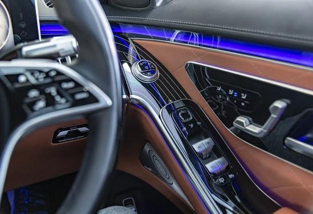 interior mercedes benz s class 2021