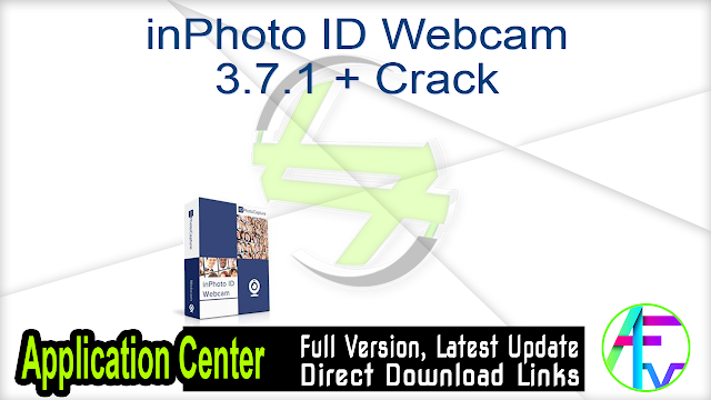 inPhoto ID Webcam 3.7.1 + Crack