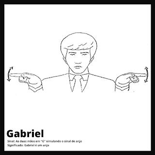 Gabriel em Libras