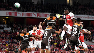 Carabao Cup: Arsenal Sail Past Brentford in Third Round