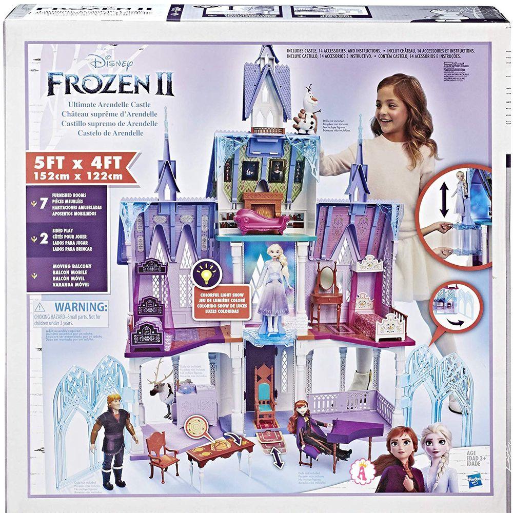 Четырехэтажный кукольный дом Disney Frozen 2 Castle