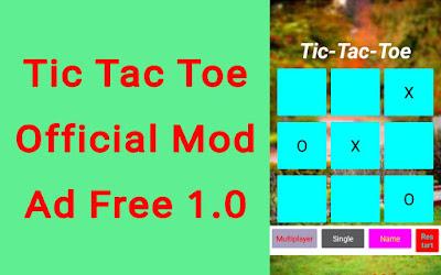 Tic Tac Toe Mod Apk