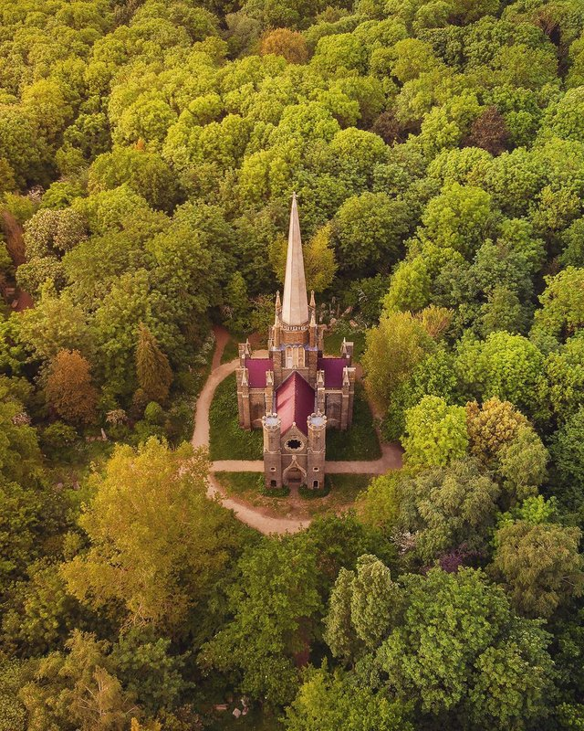 nhà thờ trong rừng