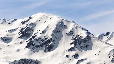 HD Wallpaper Mountain, Snow, Winter