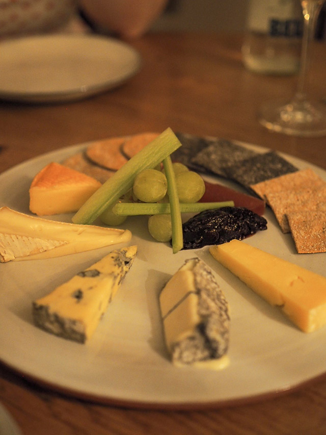Foxhill Manor cheese plate