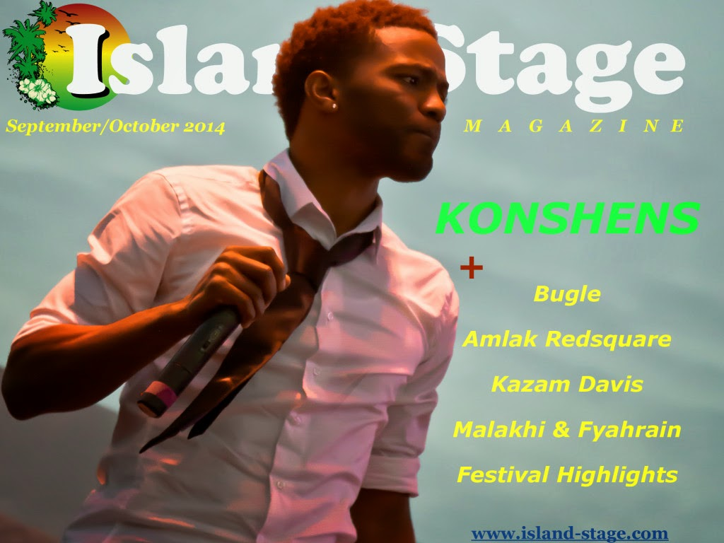NEW IMAGE PROMOTIONS: Konshens Covers Island Stage Magazine