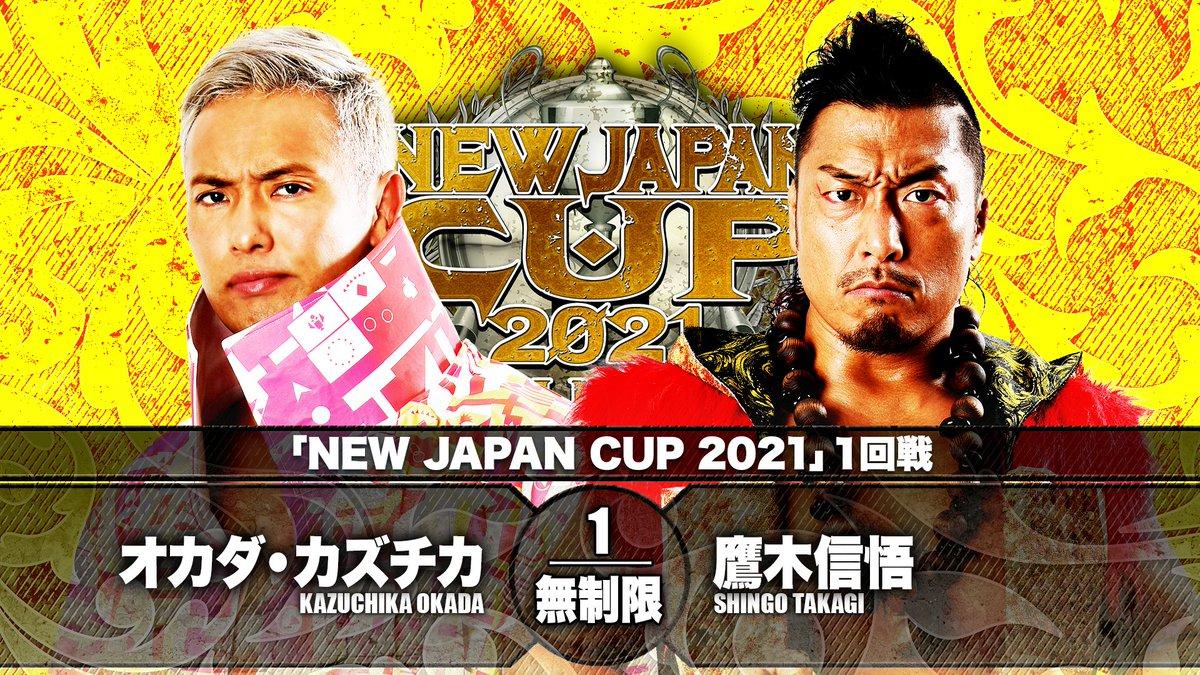 Cobertura: NJPW New Japan Cup 2021 – Day 02 – Prova de fogo!