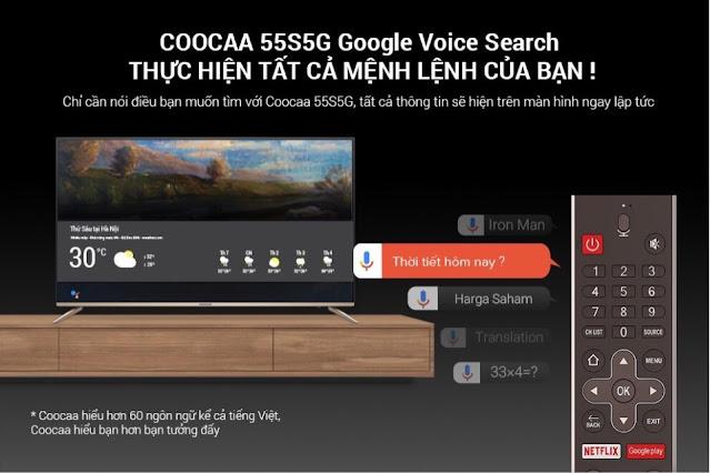 Tivi CooCaa 55S5G Nha Trang