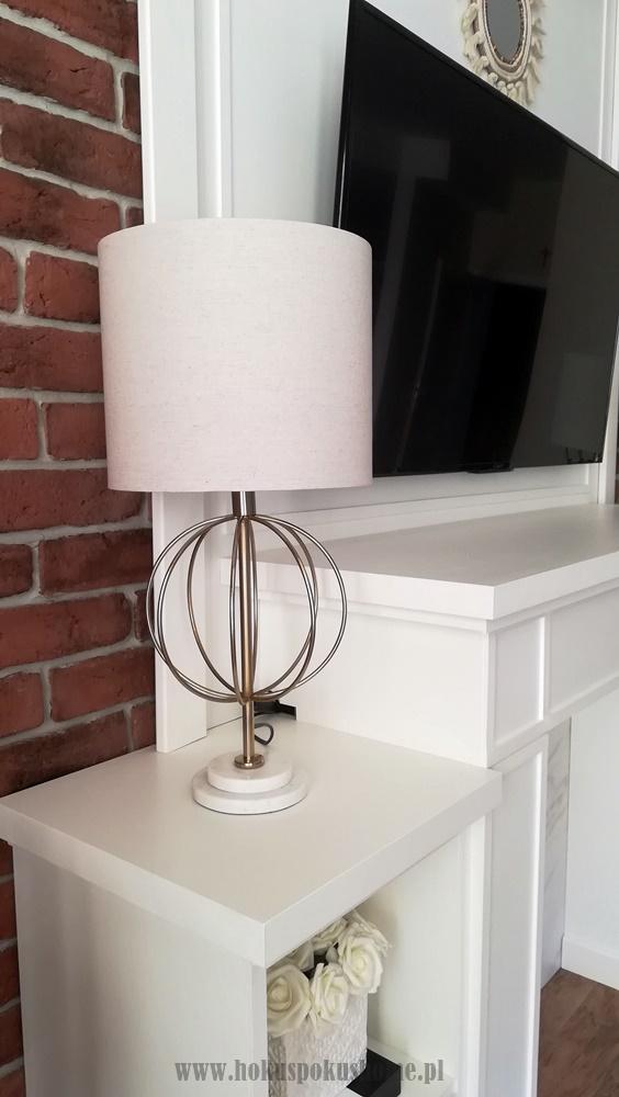 Lampa stołowa glamour