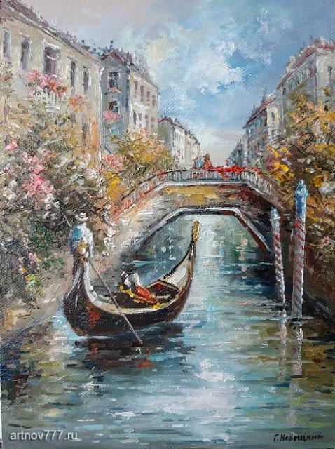 По Венеции на гондоле