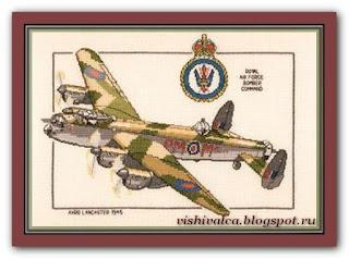 "Heritage Crafts Серия: Aeroplanes CLA168 ""Avro Lancaster"""
