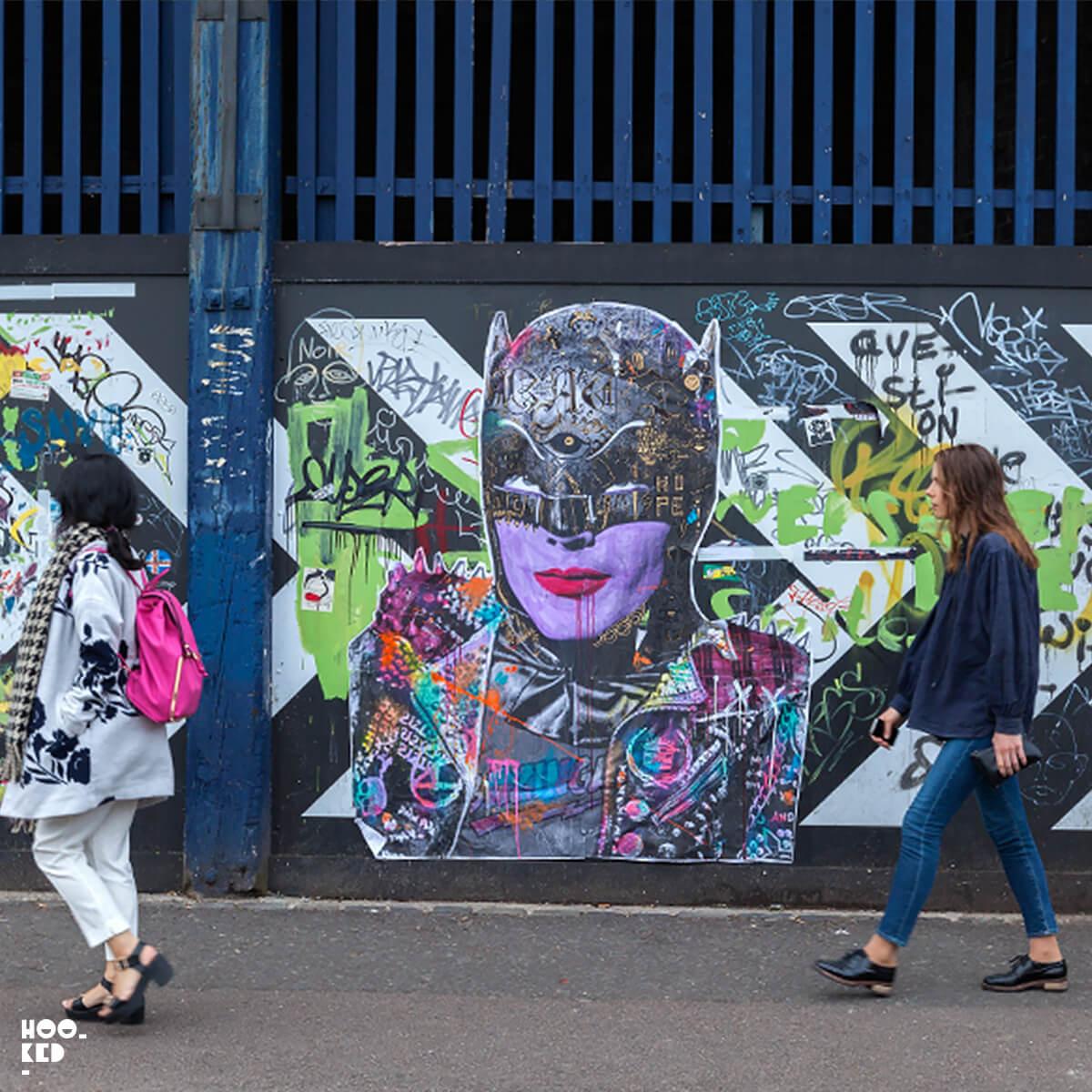 Five London Street Art Hotspots for Paste-ups - Stikki Peaches