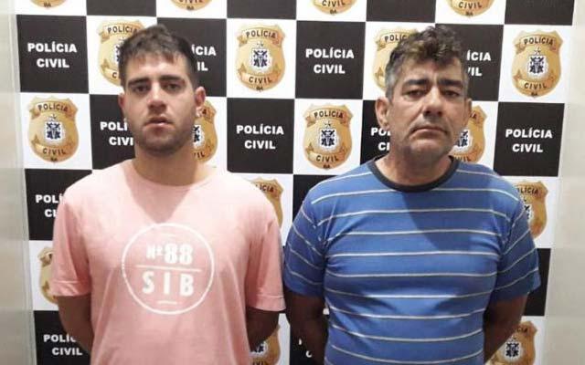 Pai e filho são presos por suspeita de tráfico de drogas na Bahia
