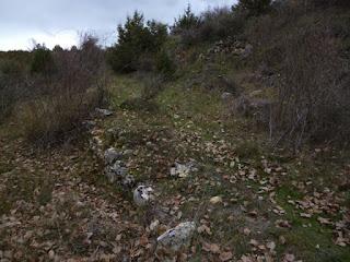 ¿restos de vía romana?
