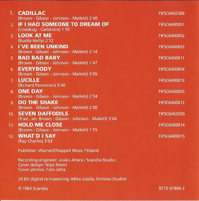 The Renegades – Cadillac (1964)