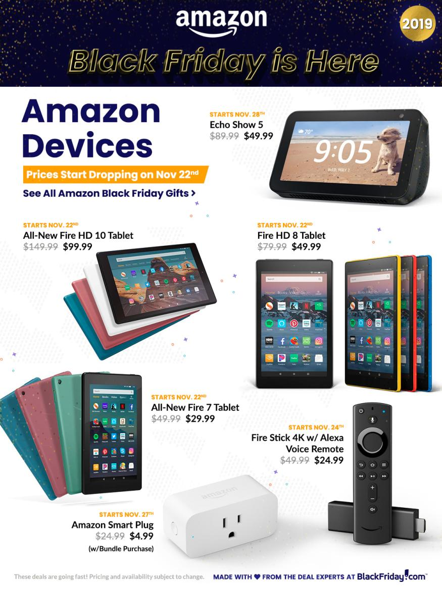 Amazon Black Friday 2019 Ad Page 12