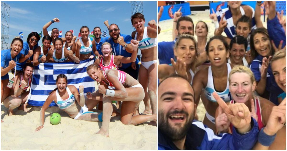 03b140b89f8 Παγκόσμια Πρωταθλήτρια η Εθνική Ελλάδος γυναικών στο Χάντμπολ – Νίκησαν τη  Νορβηγία και πήραν το χρυσό
