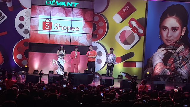 May 31, 2019 evening, I went to New Frontier Theatre in Cubao, Quezon City to attend a concert and unveiling for Shopee's