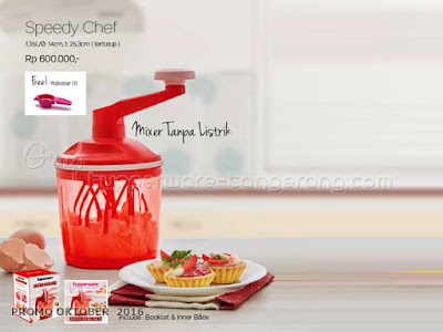 Speedy Chef ~ Tupperware Promo Oktober 2016