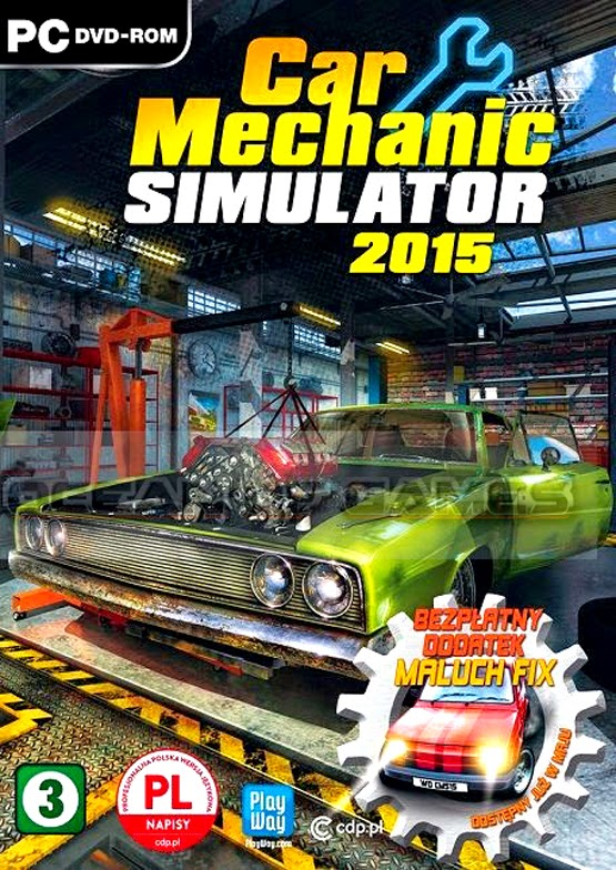 Car Mechanic Simulator 2015 Visual Tuning ESPAÑOL PC Full Cover Caratula