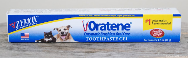 Zymox oratene enzymatic toothpaste gel for dogs and cats