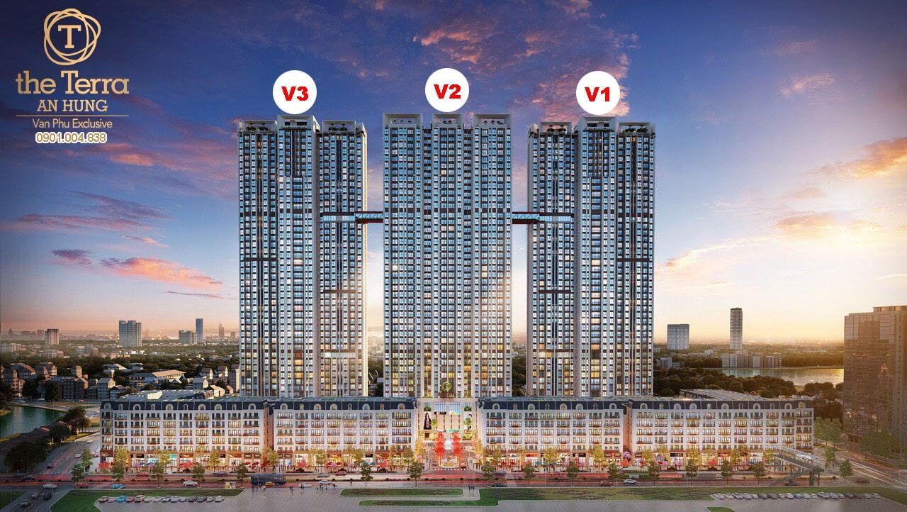 giá bán chung cư the terra an hưng từ 20 triệu