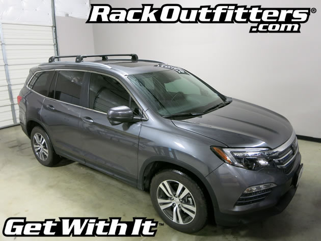 Honda Pilot Thule BLACK AeroBlade EDGE Base Roof Rack '16 ...