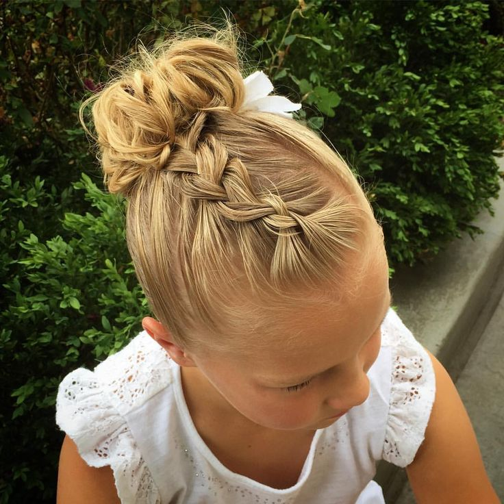 Cute%2BEasy%2BHairstyles%2BFor%2BLittle%2BGirls%2B%252817%2529 30 Cute Easy Hairstyles For Little Girls Interior