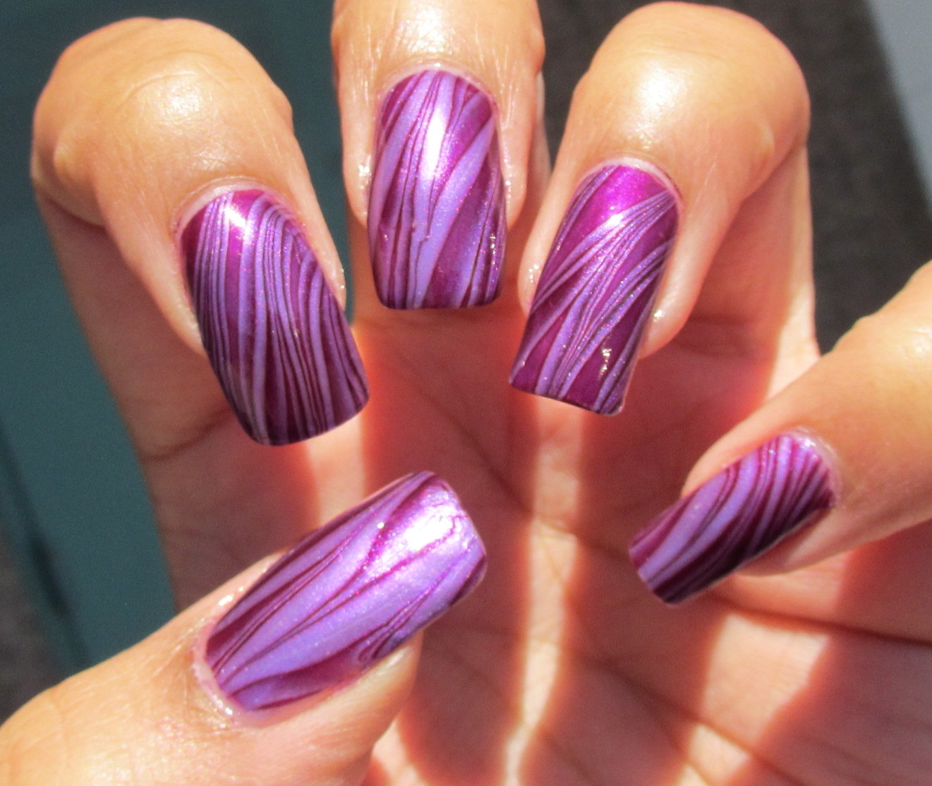 My Simple Little Pleasures Notd Purple Stripes Water