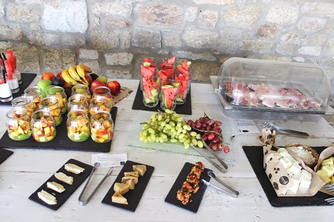 Rocabella Mykonos Art Hotel & SPA breakfast buffet