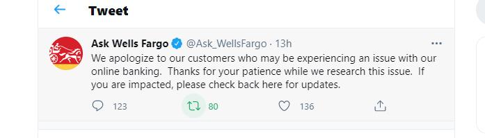 Well fargo twitter