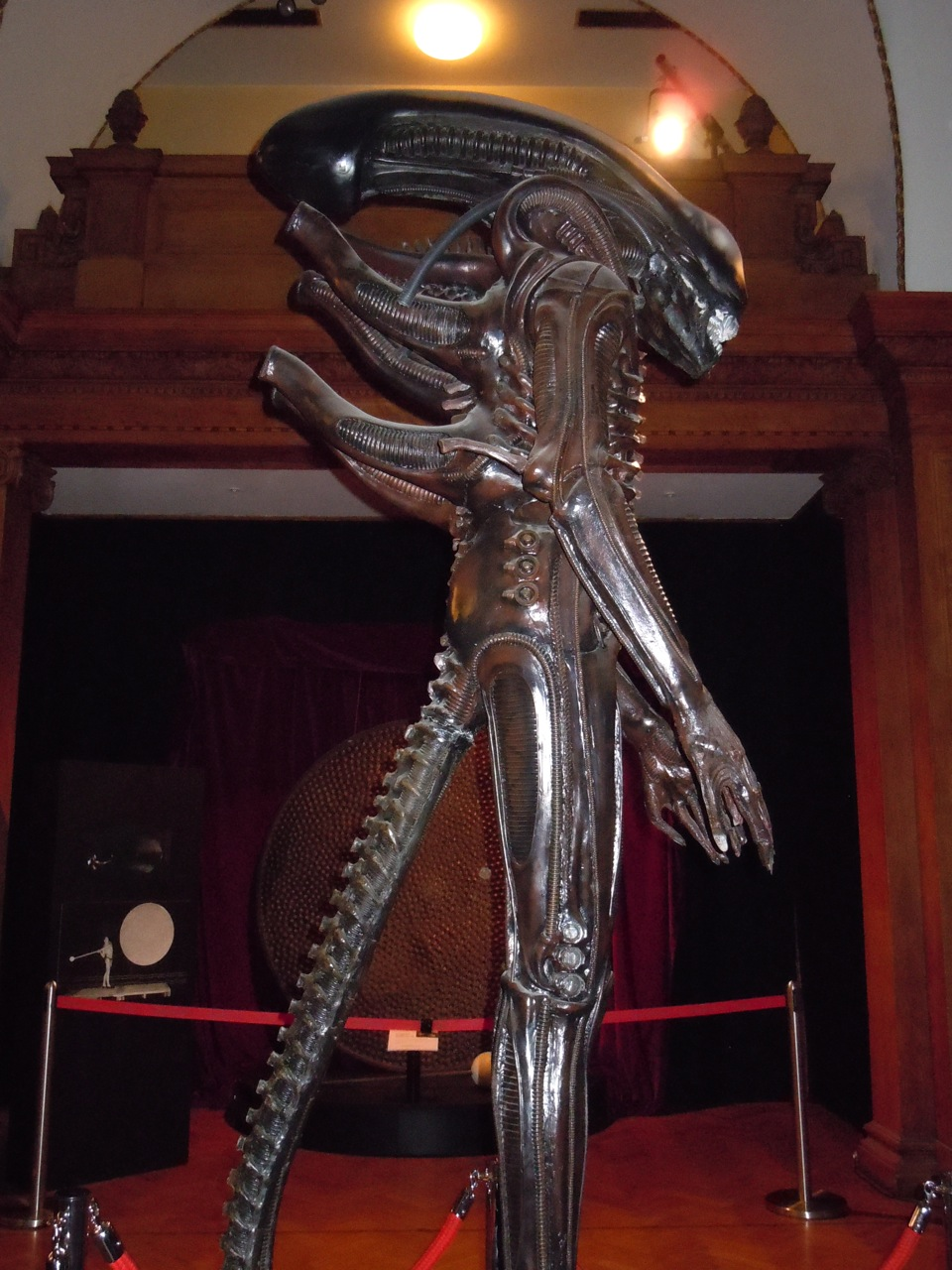 Hollywood Movie Costumes and Props Alien replica from Ridley Scottu0027s 1979 classic movie... Original film costumes and props on display & Hollywood Movie Costumes and Props: Alien replica from Ridley ...