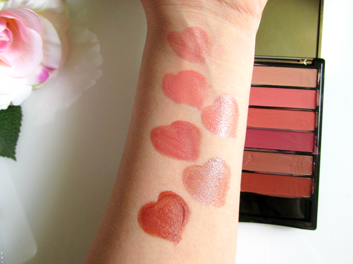 Review & Swatches: L´Oréal Color Riche La Palette Lips - Nude - 14.99 Euro