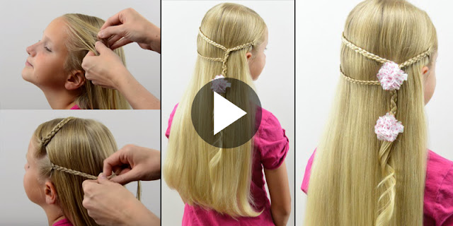 Learn - How To Make Simple Micro Braid Hairstyle, See Tutorial