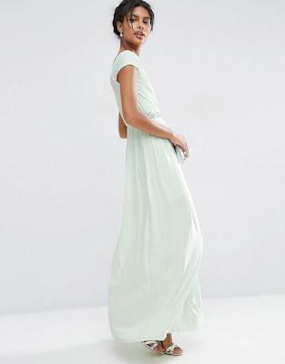 vestidos largos con botines