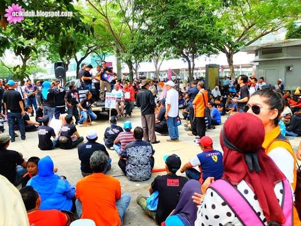 Himpunan Di Istana Kehakiman Putrajaya ~ Tanpa Bicara #29