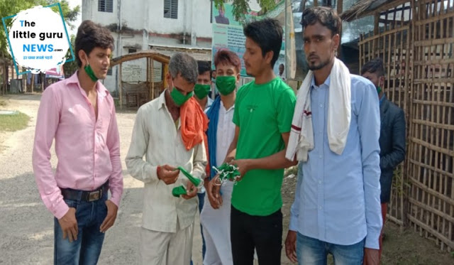 Student RJD Sitamarhi plantation