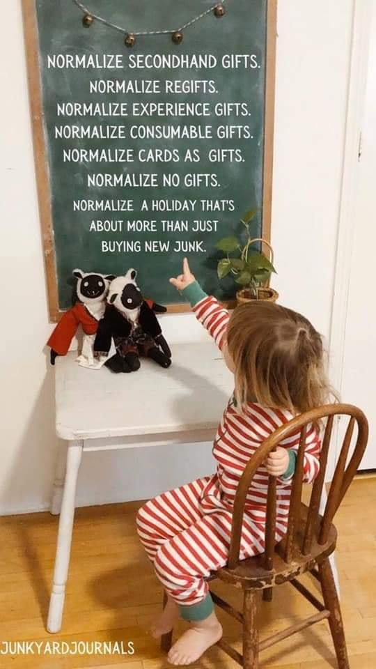 Think Sustainably this Holiday Season when planning gifts