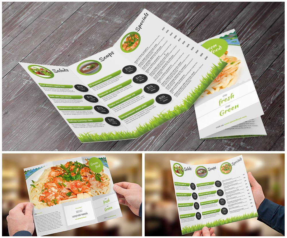 11x17 brochure template word