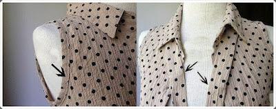 Eski Gömleği Değerlendirme- Bluz Yapımı, Resimli Açıklamalı 1