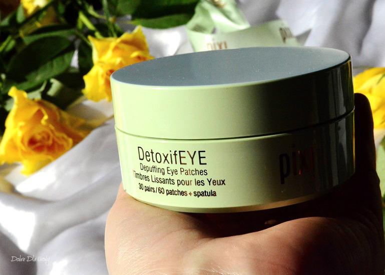 Hydrożelowe płatki pod oczy DetoxifEYE Pixi Beauty recenzja