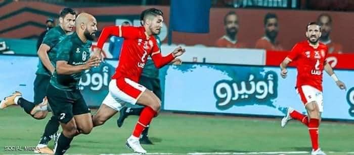 محمد شريف سجل ثنائية خلال المباراة ويستعيد الصدارة