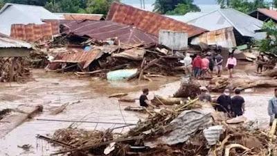 Banjir Bandang di Flores Timur, Puluhan Orang Meninggal