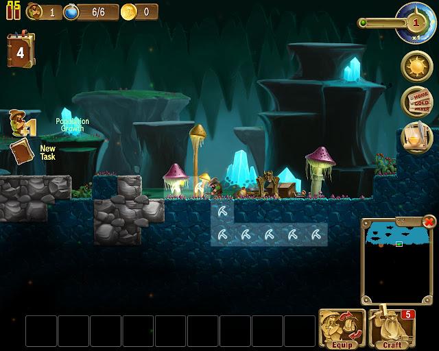 World 4 Caves | Craft the World Screenshot
