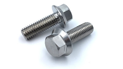 Custom Metric Flange Bolts - Made Using 316 Stainless Steel Material