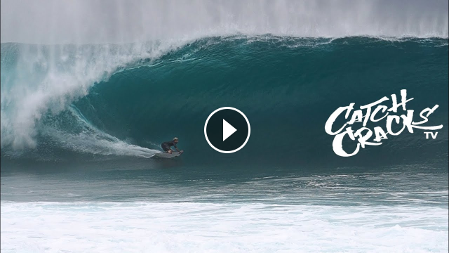 POURING at PIPELINE North Shore surf RAW FOOTAGE Part 1