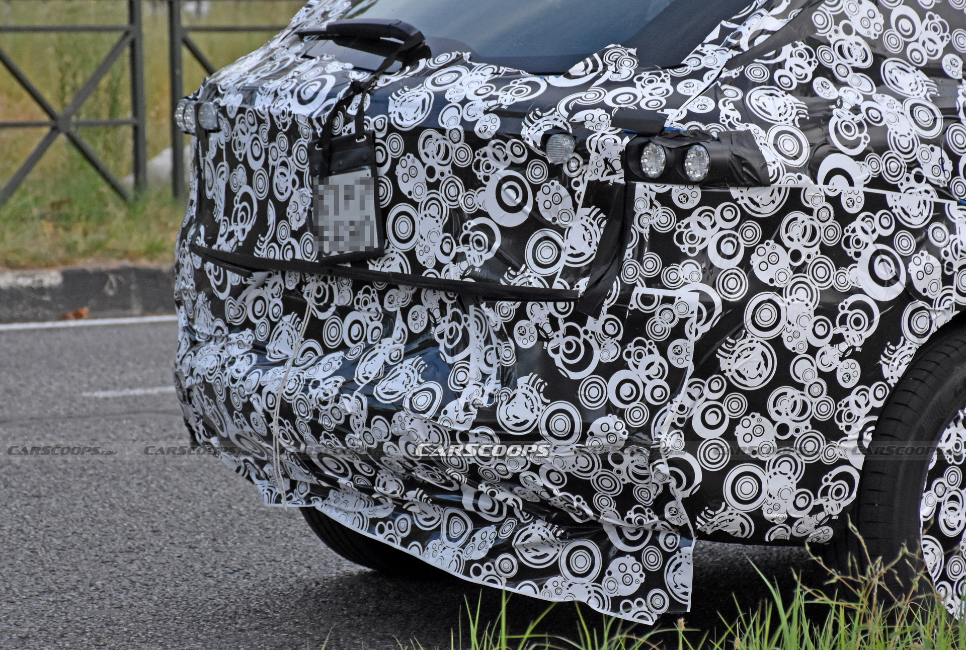 2022 Alfa Romeo Tonale Spied Back
