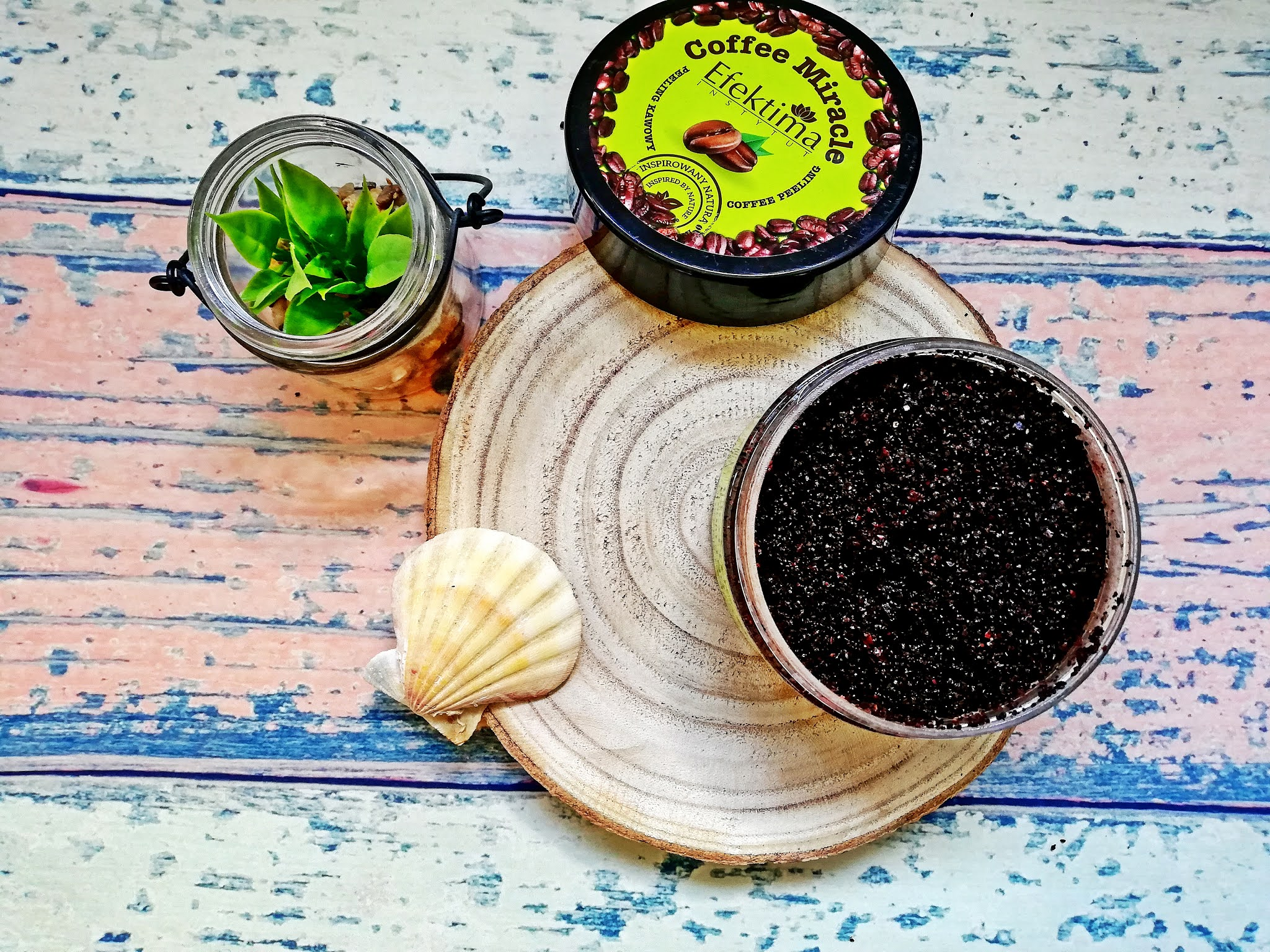 Efektima, Coffee Miracle, Naturalny peeling kawowy