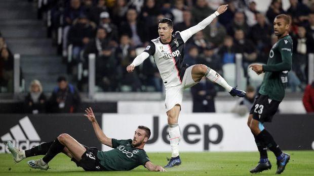 Akurasi Buruk Ronaldo Dan Ronaldo Tetap Diberikan Tendangan Bebas 2019