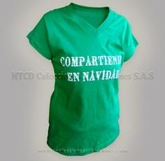 Camisetas publicitarias y promocionales colombia